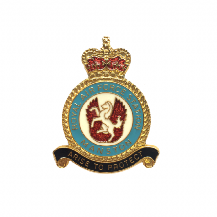 Royal Air Force RAF Manston Lapel Badge Lapel Badge